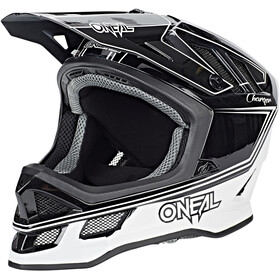 ONeal Blade casco per bici, charger black/white